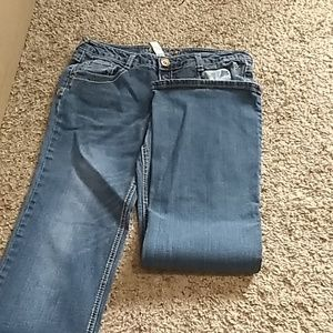 Girls Justice jeans size 16 and a half 064